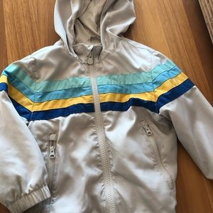 Gap Toddler 2 years hooded windbreaker jacket